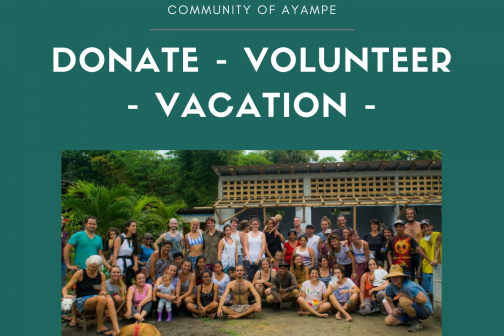 Eco-Tourism: Donate & Volunteer in Ayampe