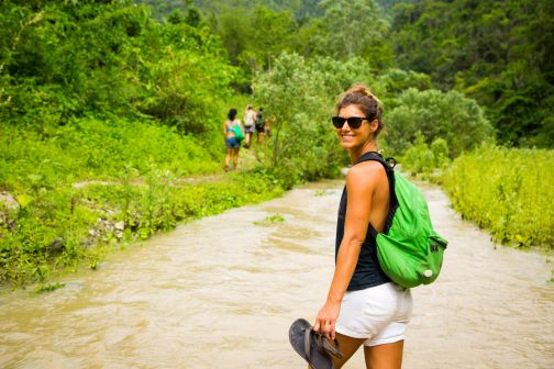 Hiking the Jungle to the Ayampe River