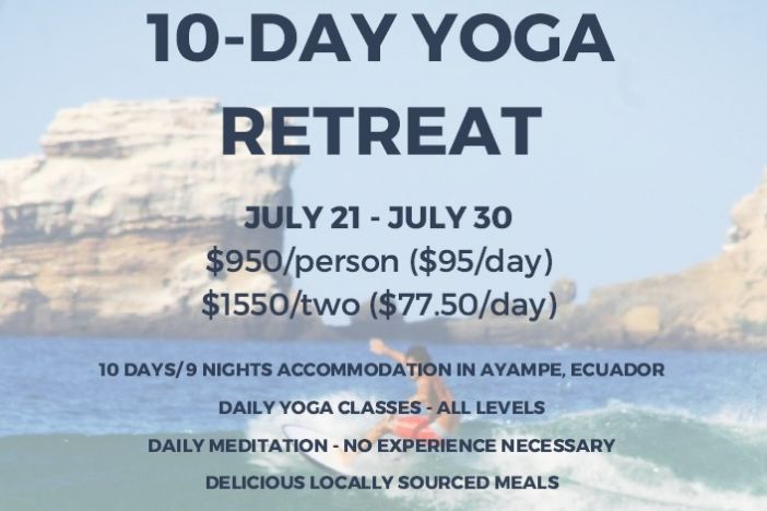 10-Day Yoga Retreat